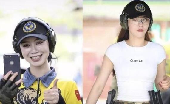 中国美女枪手惊艳泰国 国际防卫手枪公开赛闭幕