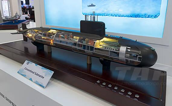 买二送一!中国出口泰国新型潜艇内部结构曝光