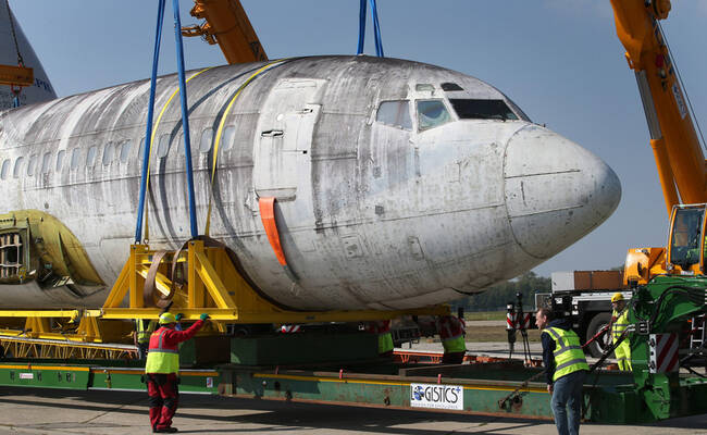 德国一客机被转运回国 40年前曾遭恐袭|组图