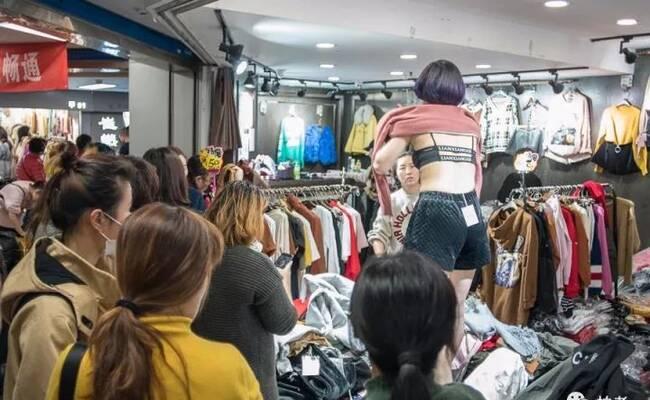 北京动物园服装批发市场的女孩们