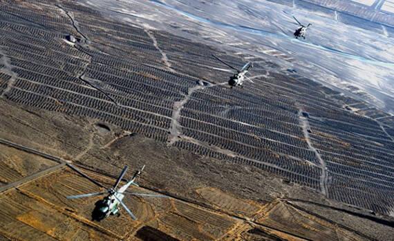 仿佛在外星:西藏陆航部队青藏高原直升机训练