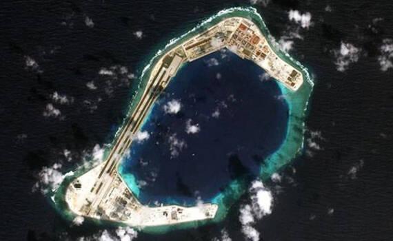 渚碧岛最新全景照曝光:可容纳20架战机 仍能扩建