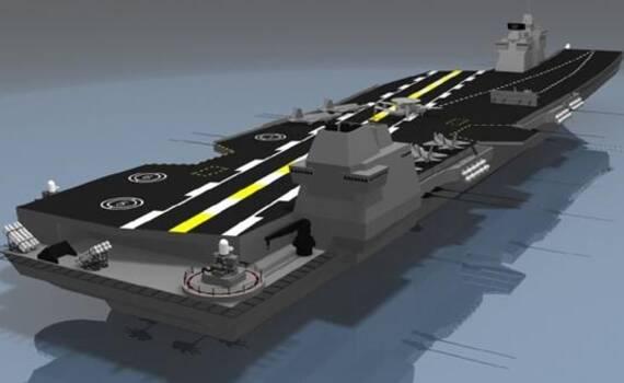 韩国网友为F35造科幻航母 国防部:拜托专业点!