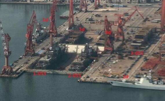 中国力量!这家百年老厂同时建造整支航母舰队