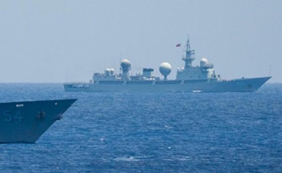 中国侦察船现身关岛外海 美日印干着急没办法