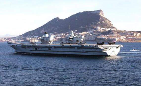 英国要派最新型航母巡航南海,但舰载机都没配全……