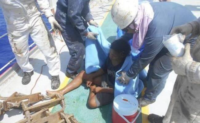 印尼少年海上飘流49天终获救 靠抓鱼果腹
