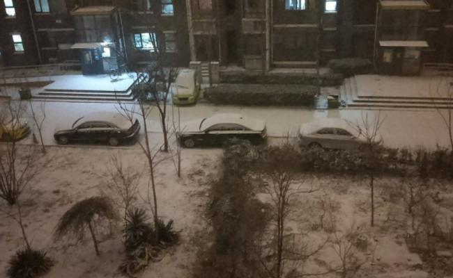 天津首雪:官微不忘问候北京