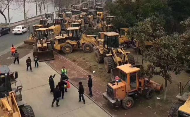 这是大雪来临前的南京