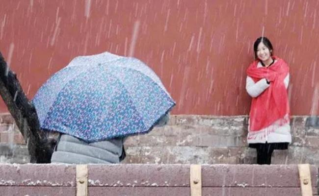 终于等到你!北京初雪全景直击