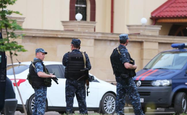 俄车臣首府发生恐怖袭击3人死亡