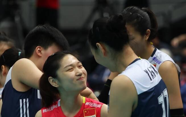 中國女排3-1擒俄羅斯輕松進6強