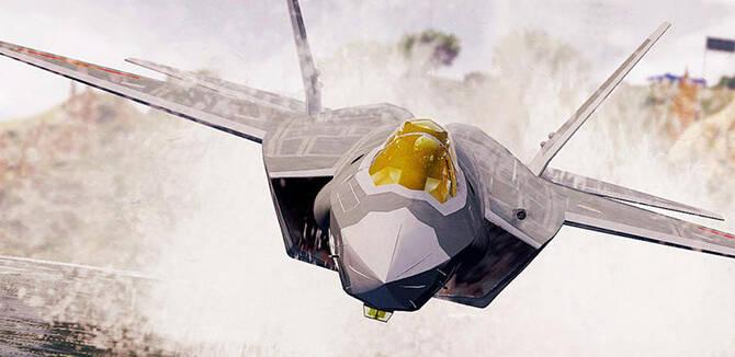 网友制作歼-31B舰载机CG 搭配新型航母科幻凶猛