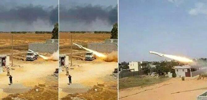 利比亚极端武装用卡车射KH29导弹 4万美元听个响
