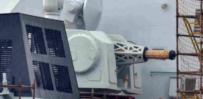 中国054A型护卫舰换装1130近防炮 火力更强