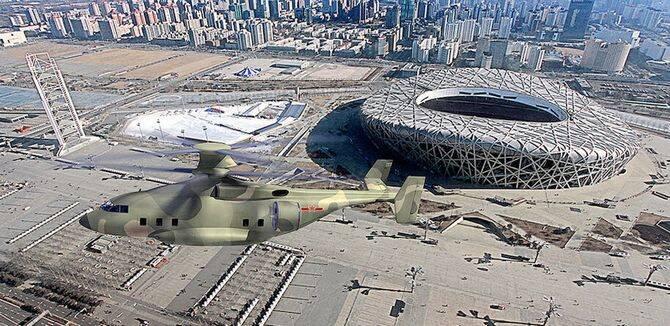 网友心目中解放军未来装备的30吨级重型直升机