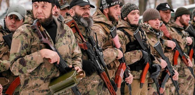 疑似300名车臣士兵入乌作战 多为俄军退伍穆斯林