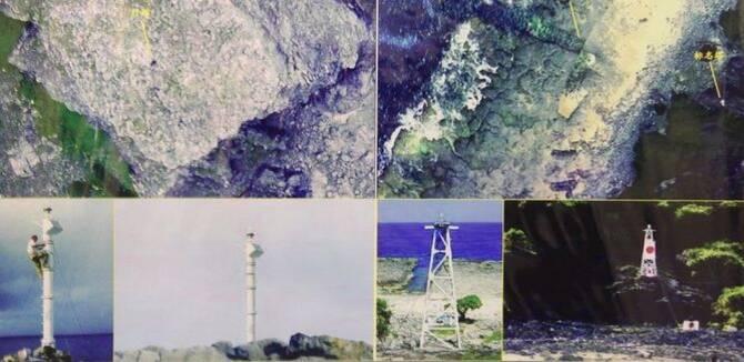 中国无人机航拍钓鱼岛影像曝光 灯塔清晰可见