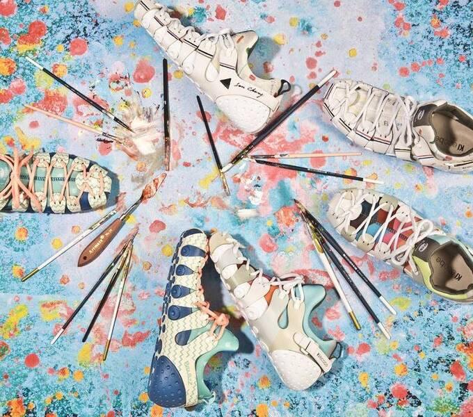 未来,你可以像拼乐高一样,组装自己的鞋