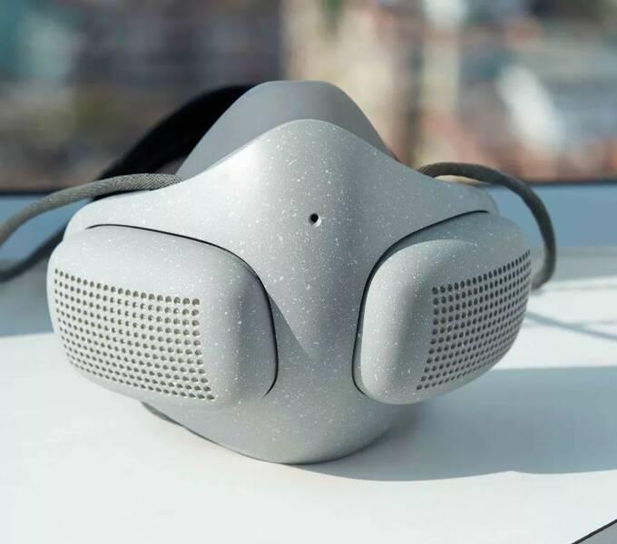 """口罩已经升级到""""智能电动""""级别了,你的呼吸还好吗"""