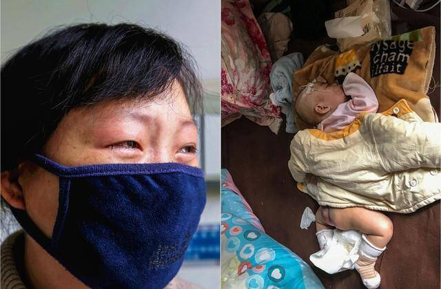 救救孩子!试管女婴患9种病 生父拉黑妻子失踪
