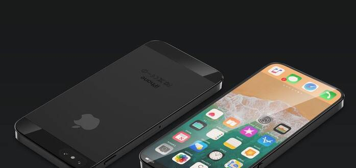 苹果新一代iPhone X曝光