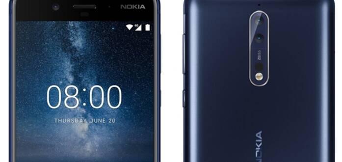诺基亚新旗舰Nokia 8官方曝光