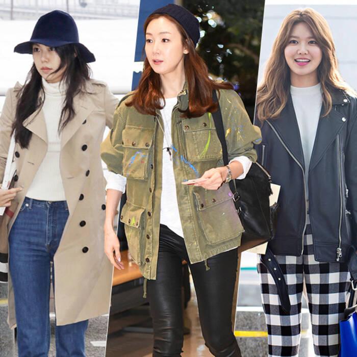 海报时尚网最新韩国女明星街拍