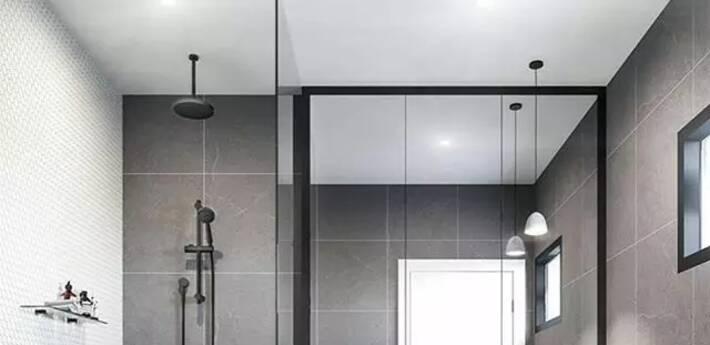 卫生间无法四室分离?给你20个干湿分离的方案!