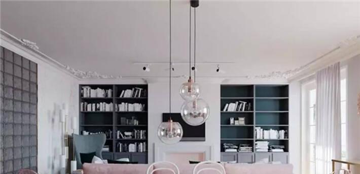 收纳柜这样设计,让你家客厅永不过时!