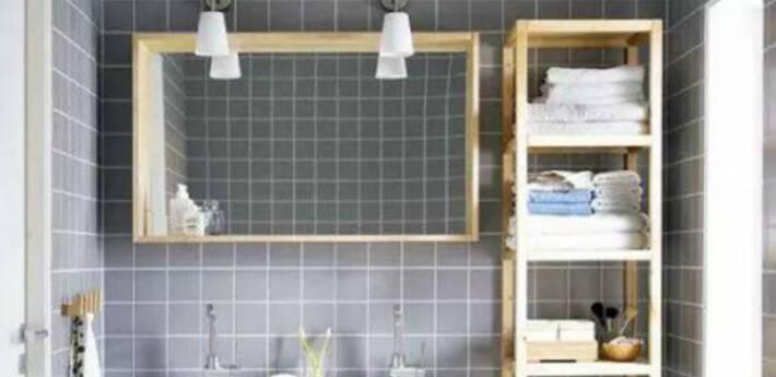 不凌乱的洗手台,如何做好收纳?