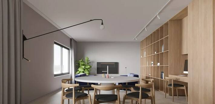 以木材为主的家装设计 自然纯粹才是家该有的样子