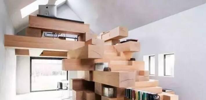 让人眼前一亮,才知道楼梯能这样设计!