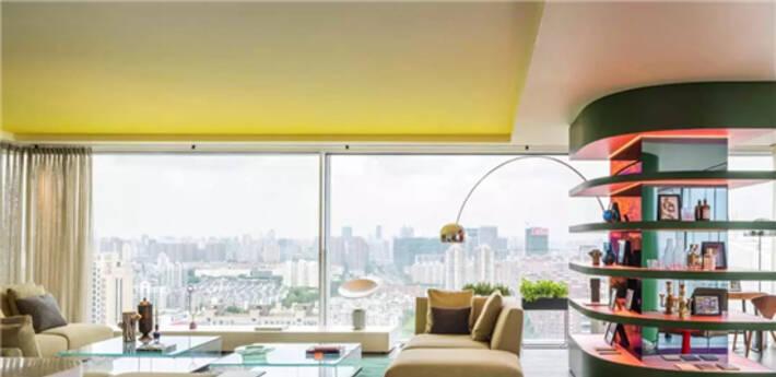 250㎡大平层公寓,设计成这样的多彩空间
