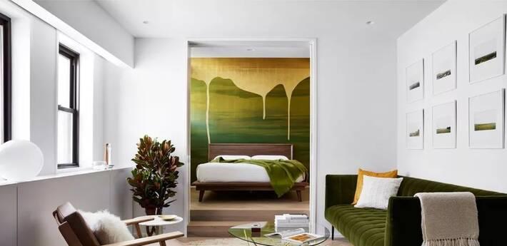51㎡ 年轻夫妻的家 卧室设计超浪漫