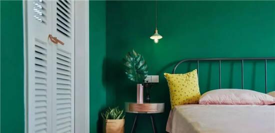 3招用好复古绿,给家增添高级感