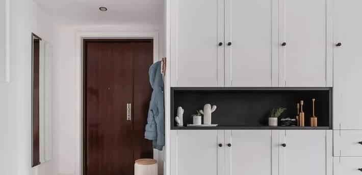 玄关鞋柜这样设计,你家还能多放89双鞋!