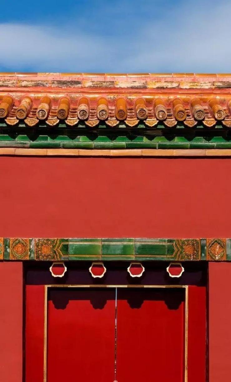 """""""左祖(太庙)右社(社稷坛)""""和传统的阴阳五行学说,也在故宫建筑中得到图片"""