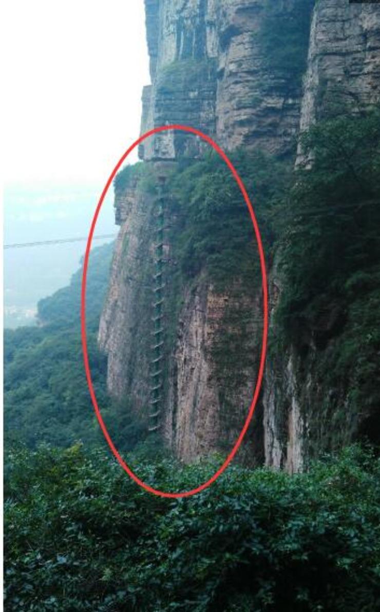 牛!中国独一无二的超级建筑 能上去的人全部腿软(图) - 子泳 - 子泳WZ的博客
