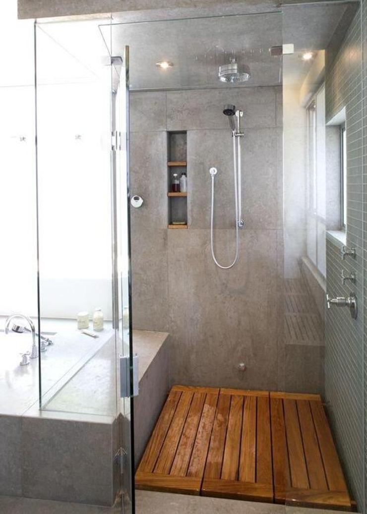 厕所淋浴房地面多铺一层木板再也不堵了