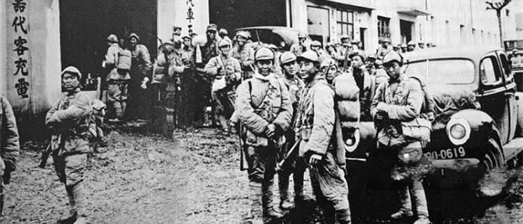 渡江战役前:南京的国民党军在干啥