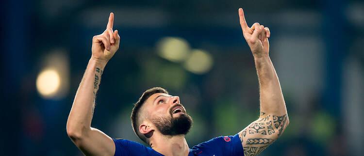 欧联杯-切尔西总分5-1晋级16强