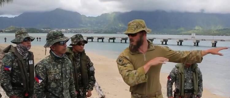 美澳日菲演练两栖渗透作战 是想针对谁