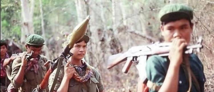 1981年:抗越战争期间的红色高棉