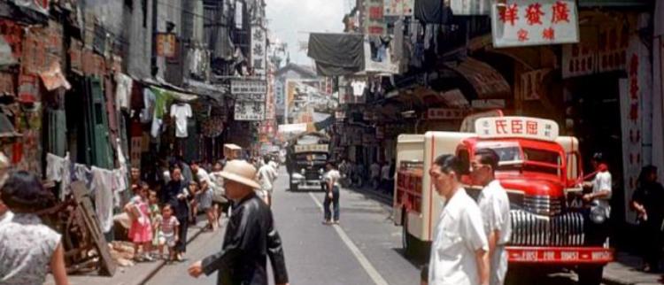 1950年代香港:你在港片里见过几处