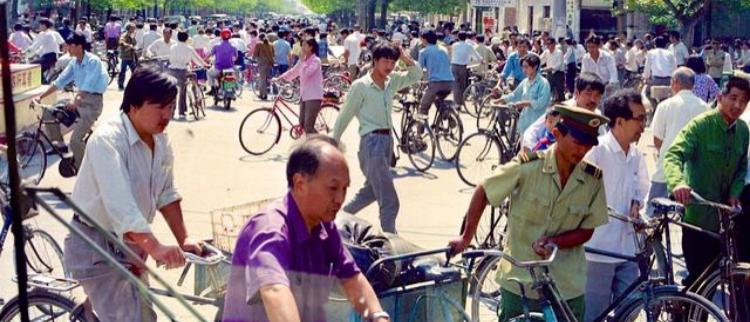 """没有共享电车时代的""""自行车王国"""""""