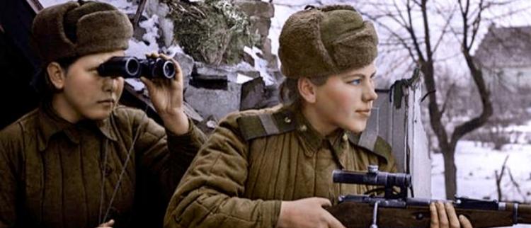 苏德战场上的女武神:二战苏军女兵