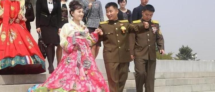 朝鲜的军婚和幸福的军嫂