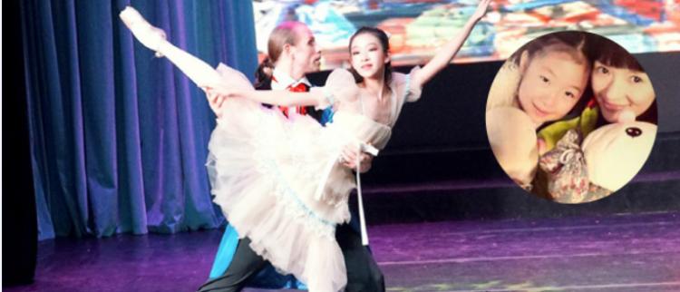 章子怡侄女脑震荡半月后再跳舞美若天仙