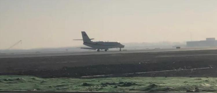 北京大兴国际机场第一飞